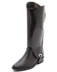 Botas de lluvia negras de Melissa