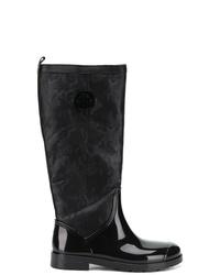 Botas de lluvia negras de Tommy Hilfiger
