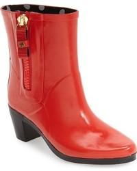 Botas de lluvia rojas de Kate Spade