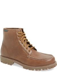Botas de trabajo de cuero marrón claro de Eastland
