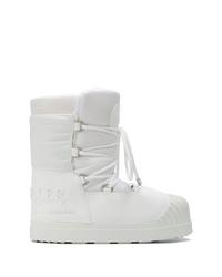 Botas para la nieve blancas de Moncler