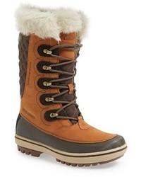 Botas para la nieve marrón claro de Helly Hansen