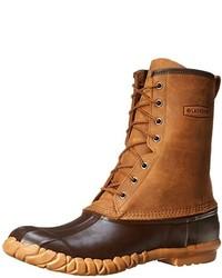 Botas para la nieve marrónes