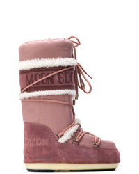 Botas para la nieve rosadas de Yves Salomon