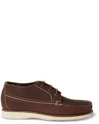 Botas safari de cuero en marrón oscuro de Red Wing Shoes