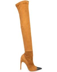 Botas sobre la Rodilla Tabaco de Givenchy