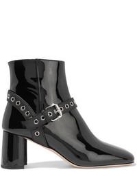 Botines con adornos negros de Miu Miu