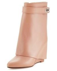Botines con Cuña Rosados de Givenchy
