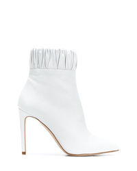Botines de cuero blancos de Chloe Gosselin