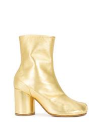 Botines de cuero dorados de Maison Margiela