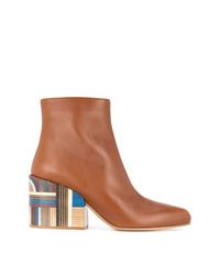 Botines de cuero marrónes de Gabriela Hearst
