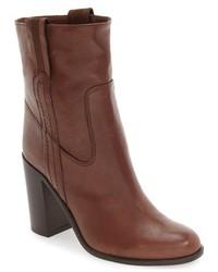Botines de cuero marrónes de Kate Spade