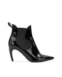 Botines de cuero negros de Proenza Schouler
