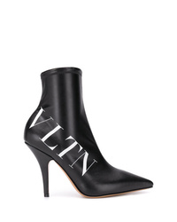 Botines de elástico negros de Valentino