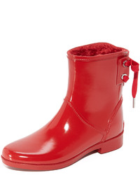 Bottes de pluie rouges MICHAEL Michael Kors