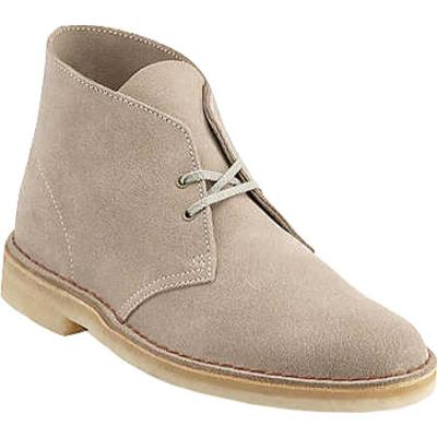 Clarks Daim Desert Boots En Beige - Beige Clarks HHjrwCJo