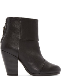 Bottines en cuir noires Rag & Bone