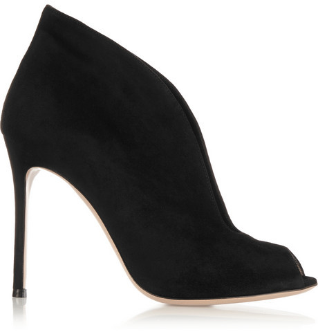 Vamp Bottines En Cuir Gianvito Rossi