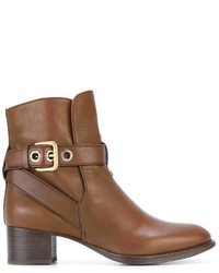 Bottines tabac Chloé