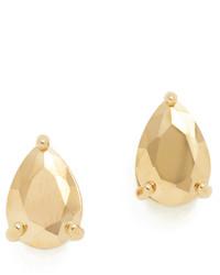 Boucles d'oreilles dorées Kate Spade