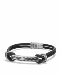 Bracelet bleu marine David Yurman