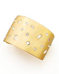 Bracelet doré Kenneth Jay Lane