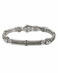 Bracelet noir Konstantino