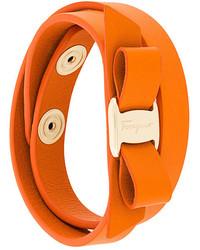 Bracelet orange Salvatore Ferragamo