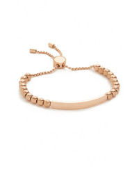 Bracelet orné de perles doré Michael Kors