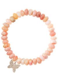 Bracelet orné de perles rose Sydney Evan