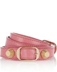Bracelet rose Balenciaga