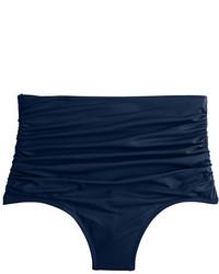 Braguitas de bikini azul marino de J.Crew