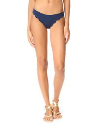 Braguitas de bikini azules de Marysia Swim