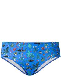 Braguitas de bikini azules de Paul Smith