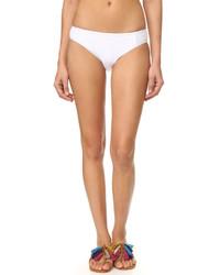 Braguitas de bikini blancas de Ella Moss