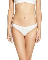 Braguitas de bikini blancas de For Love & Lemons
