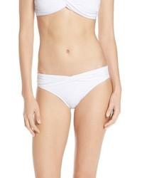 Braguitas de bikini blancas de Seafolly