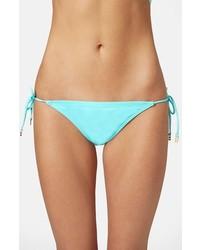 Braguitas de bikini celestes de Topshop