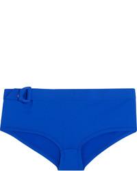 Braguitas de bikini con estampado geométrico azules de Eres