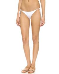 Braguitas de bikini de crochet blancas de Blue Life