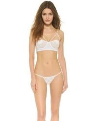 Braguitas de bikini de crochet blancas de For Love & Lemons