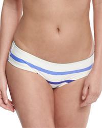 Braguitas de bikini de rayas horizontales celestes de Kate Spade