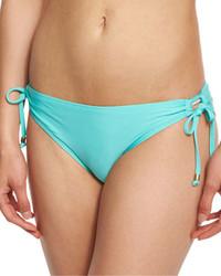 Braguitas de bikini en turquesa de Ella Moss