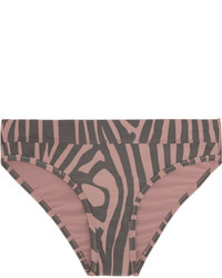 Braguitas de bikini estampadas violeta claro de adidas by Stella McCartney