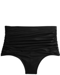 Braguitas de bikini negras de J.Crew