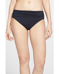Braguitas de bikini negras de Tommy Bahama
