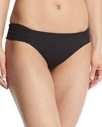 Braguitas de bikini negras de Trina Turk
