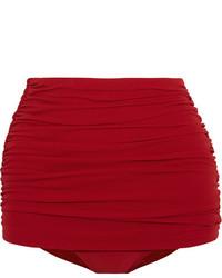 Braguitas de bikini rojas de Norma Kamali