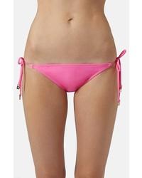 Braguitas de bikini rosa de Topshop