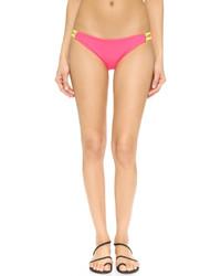 Braguitas de bikini rosadas de Basta Surf